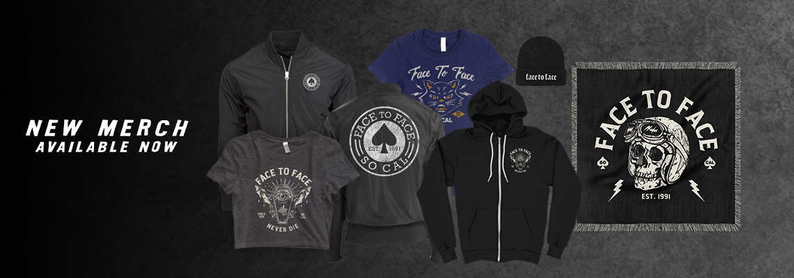 Face to Face Official Merchandise